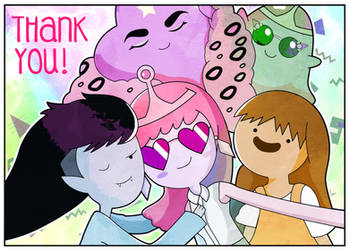 Adventure Time - Thank you by xeternalflamebryx