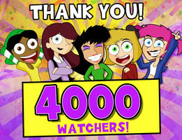 4000 Watchers Thank You! by xeternalflamebryx