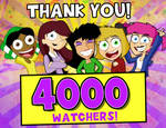 4000 Watchers Thank You!