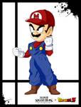 Super Smash Styles- 01 Mario x Dragon Ball Z