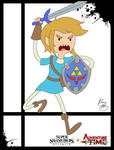 Super Smash Styles- 03 Link x Adventure Time