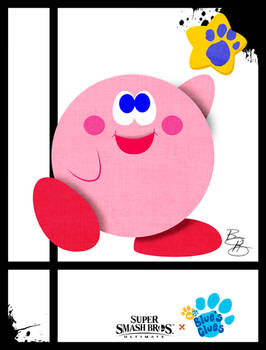 Super Smash Styles- 06 Kirby x Blues Clues
