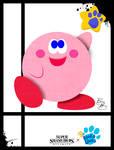 Super Smash Styles- 06 Kirby x Blues Clues
