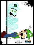 Super Smash Styles- 09 Luigi x Danny Phantom