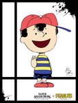 Super Smash Styles- 10 Ness x The Peanuts