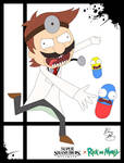 Super Smash Styles- 18 Dr.Mario x Rick and Morty