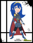 Super Smash Styles- 21e Lucina x Kim Possible