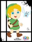 Super Smash Styles- 22 Y. Link x Dora the Explorer