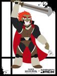 Super Smash Styles- 23 Ganondorf x Samurai Jack