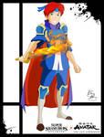 Super Smash Styles- 25 Roy x Avatar: TLAB