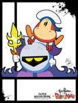 Super Smash Styles- 27 M. Knight x Grim Adventures