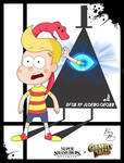 Super Smash Styles- 35 Lucas x Gravity Falls