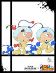 Super Smash Styles- 38 Olimar x The Smurfs