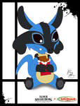 Super Smash Styles- 39 Lucario x Lilo and Stitch
