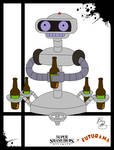 Super Smash Styles- 40 R.O.B. x Futurama