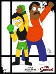 Super Smash Styles- 47 Little Mac x The Simpsons