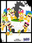 Super Smash Styles- 54 Bowser Jr x Rugrats
