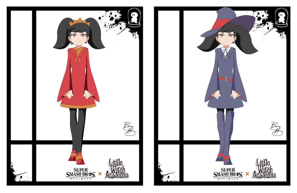 Super Smash Styles- 17 Ashley x L. Witch Academia