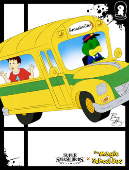 Super Smash Styles- 30 Kapp'n x Magic School Bus
