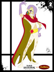 Super Smash Styles- 34 Ghirahim x Don Bluth