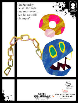 Super Smash Styles- 36 Chain Chomp x Eric Carle