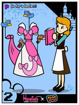 Heroines Game Styles- Cinderella x Rhythm Heaven