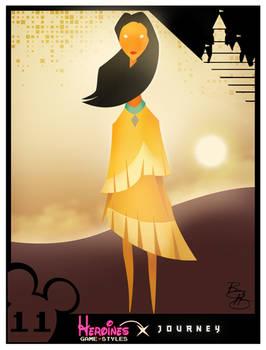 Heroines Game Styles- Pocahontas x Journey