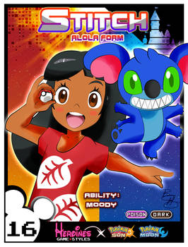 Heroines Game Styles- Lilo x Pokemon
