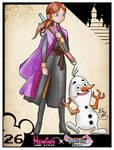 Heroines Game Styles- Anna x Dragon Quest XI