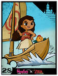 Heroines Game Styles- Moana x The Wind Waker by xeternalflamebryx