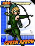 Super Smash Heroes- Link x Green Arrow