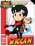 Super Smash Heroes- Ness x Wiccan by xeternalflamebryx