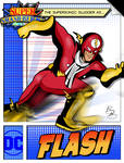 Super Smash Heroes- Captain Falcon x Flash by xeternalflamebryx