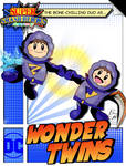 Super Smash Heroes- Ice Climbers x Wonder Twins by xeternalflamebryx