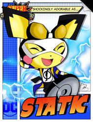 Super Smash Heroes- Pichu x Static