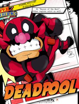 Super Smash Heroes- Wario x Deadpool