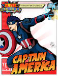 Super Smash Heroes- Ike x Captain America