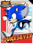 Super Smash Heroes- Sonic x Quicksilver