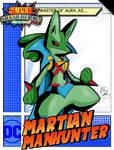 Super Smash Heroes- Lucario x Martian Manhunter