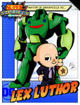 Super Smash Heroes- Villager x Lex Luthor by xeternalflamebryx
