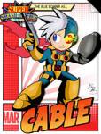 Super Smash Heroes- Mega Man x Cable