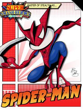 Super Smash Heroes- Greninja x Spider-man