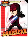 Super Smash Heroes- Mii Swordsman x Daredevil