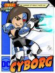 Super Smash Heroes- Mii Gunner x Cyborg