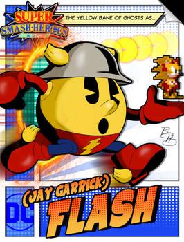 Super Smash Heroes- Pac-man x The Flash