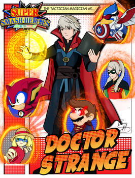 Super Smash Heroes- Robin x Doctor Strange