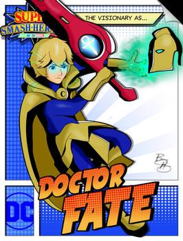 Super Smash Heroes- Shulk x Doctor Fate
