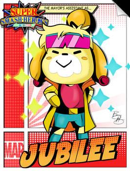 Super Smash Heroes- Isabelle x Jubilee