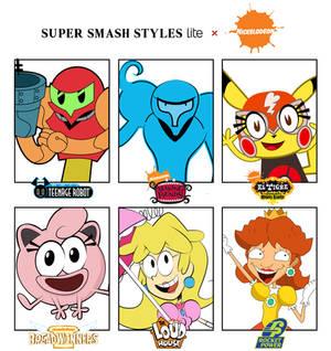 Super Smash Styles Lite x Nickelodeon Part 1