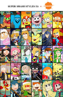 Super Smash Styles Lite x Nickelodeon Complete
